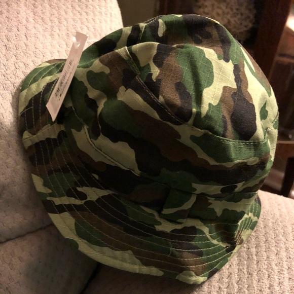 Baby camo bucket hat. M 5a83a36e8df4702a8098dcfd 8a370f05db4